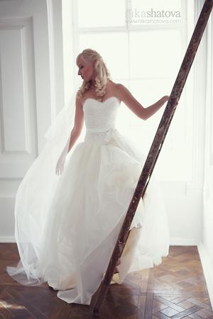 Пошив свадебного платья на заказ.