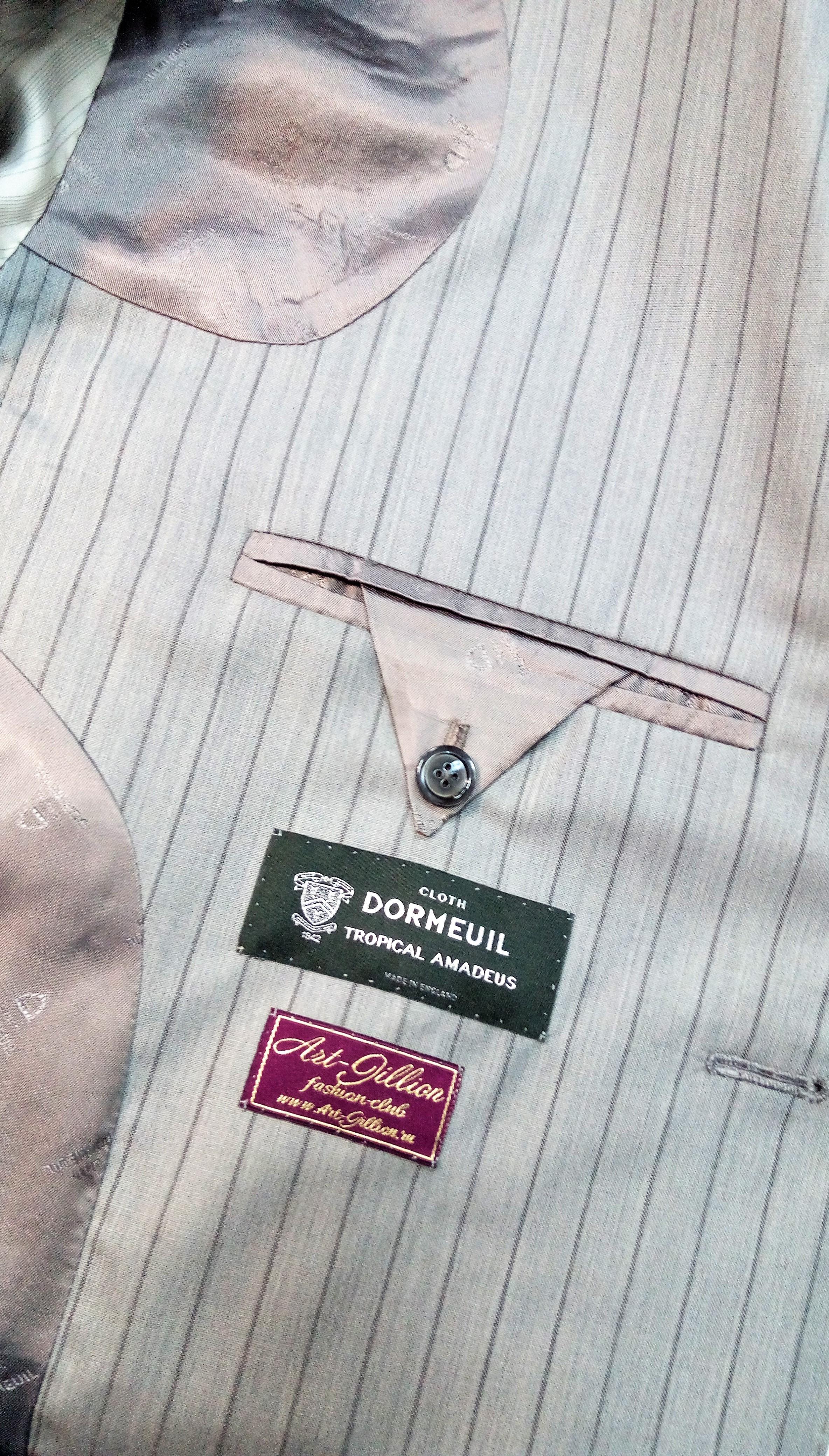 Пиджак из ткани Dormeuil