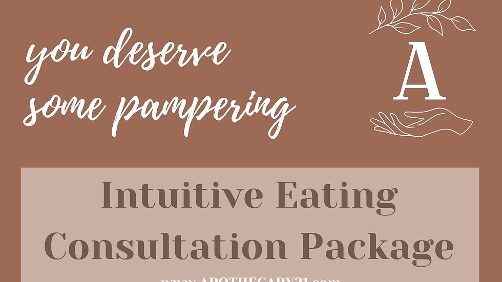 Nutrition Consultation Package