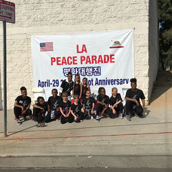 Thank you to LA International Peace Para