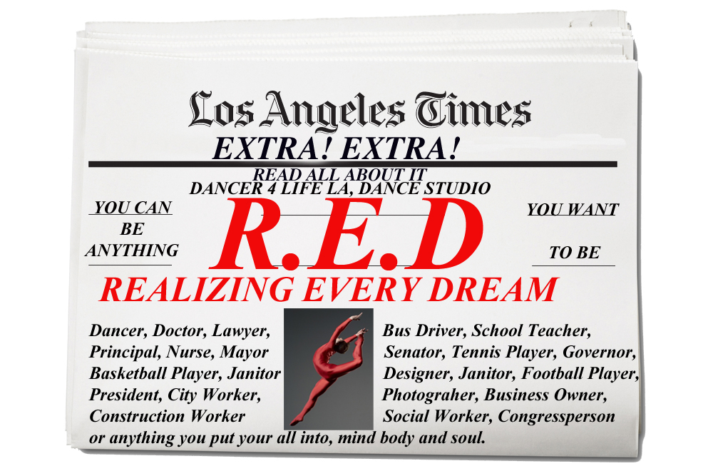 R.E.D. REALIZING EVERY DREAM