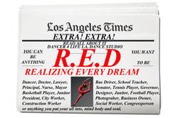 R.E.D. REALIZING EVERY DREAM