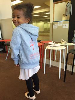 she ordered her hoodie :)