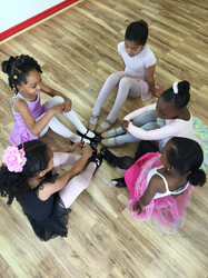 Creating a flower w/tap shoes
