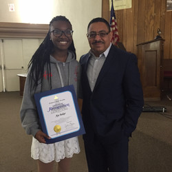Aja Recognized by Assembly  Woman