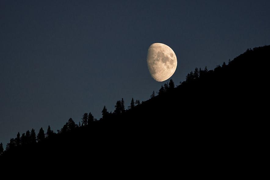 Mondaufgang in Chur