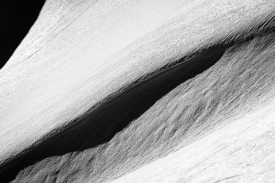 Die gefrorene Welle S/W