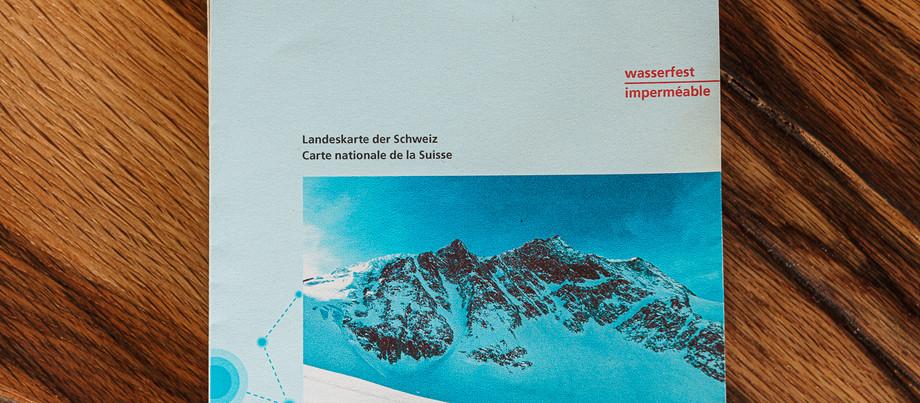 Swisstopo Skitouren Karte Arolla