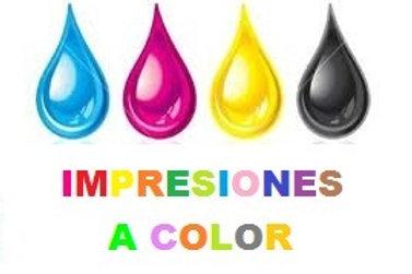 Impresiones a Color