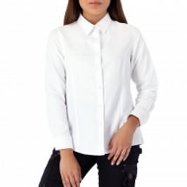 Camisa Blanca Quebec Vancouver Mujer