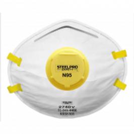 RESPIRADOR DESCARTABLE STEELPRO N95 (10 UN) 2740V