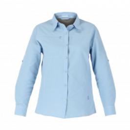 Camisa Duck Dry HW Mujer Celeste