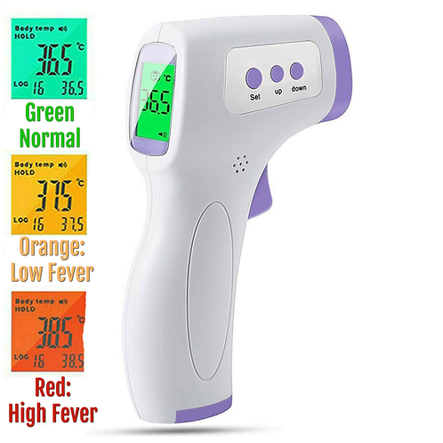 Termómetro HBR -E0110Q / Grado médico sin contacto
