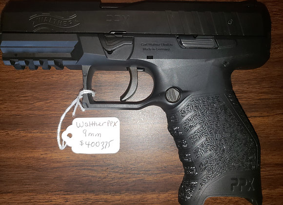WALTHER ARMS PPX 9X19