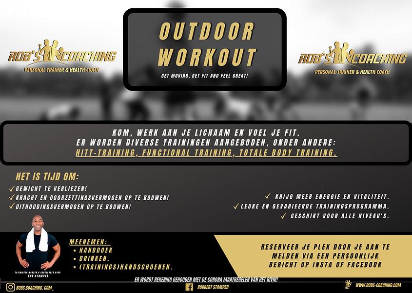 Kopie van Kopie van Outdoor Workout Flye