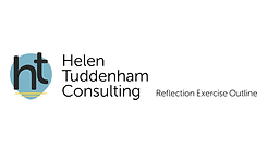 Reflection exercise outline from Helen Tuddenham Consulting available to download for free