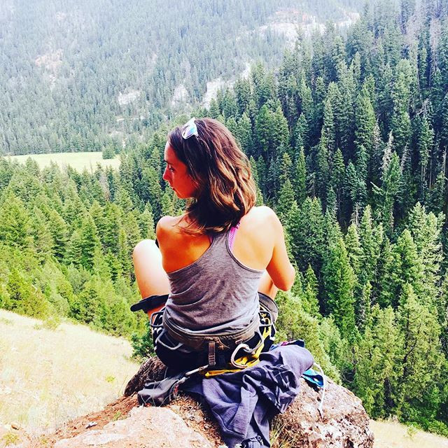 Meditating in Big Sky, MT