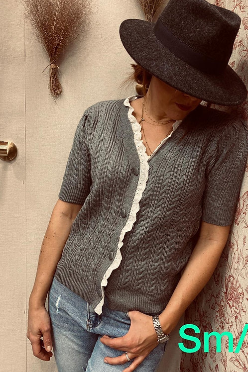 Gilet pull Lucie