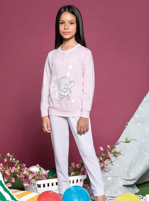 """""""Ballett"""", Langarm Pyjama"""