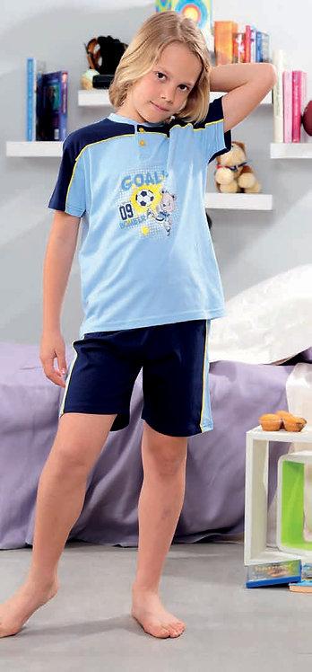 """Fussball"", Kurzarm Pyjama"