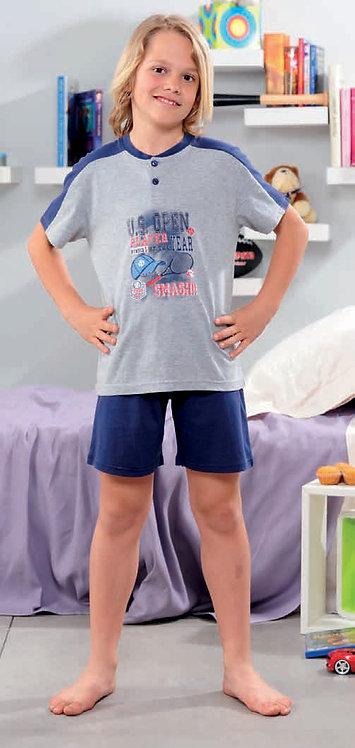 """""""Tennis Fan"""", Kurzarm Pyjama"""