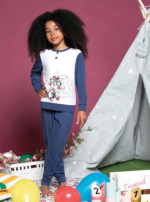 """Bunny"", Langarm Pyjama"