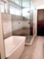 double shower doors