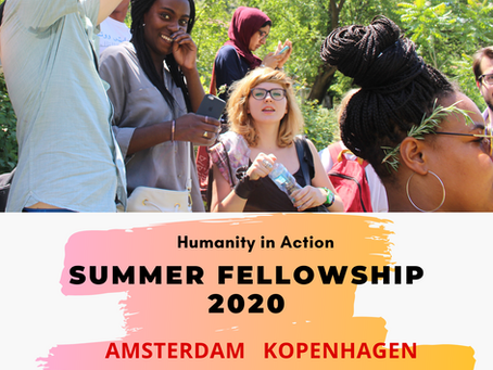 Stipendije za studente - Humanity in Action - Summer Fellowship