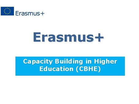 Erasmus+ CBHE projekat započeo sa realizacijom