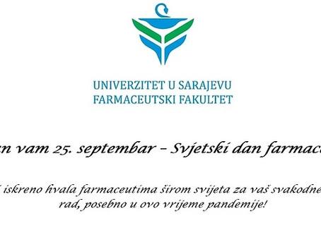 Sretan vam 25. septembar - Svjetski dan farmaceuta!