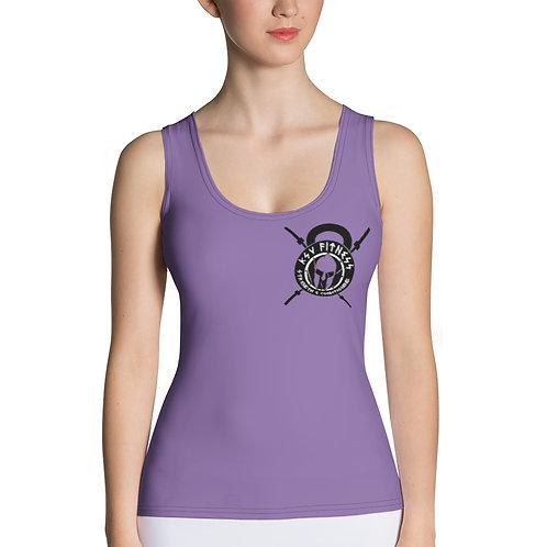 Women's Tank Top Lavender KSV Logo 2