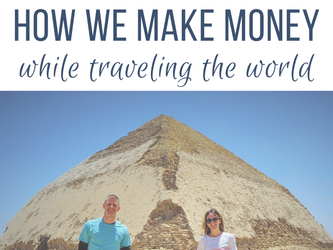 How We Make Money Traveling the World