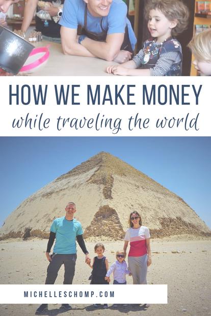 How We Make Money Traveling the World