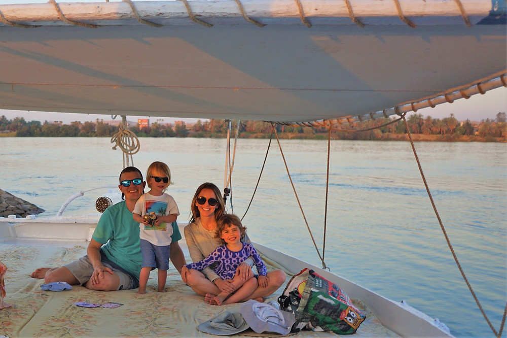 Retired Toddlers Felucca Egypt