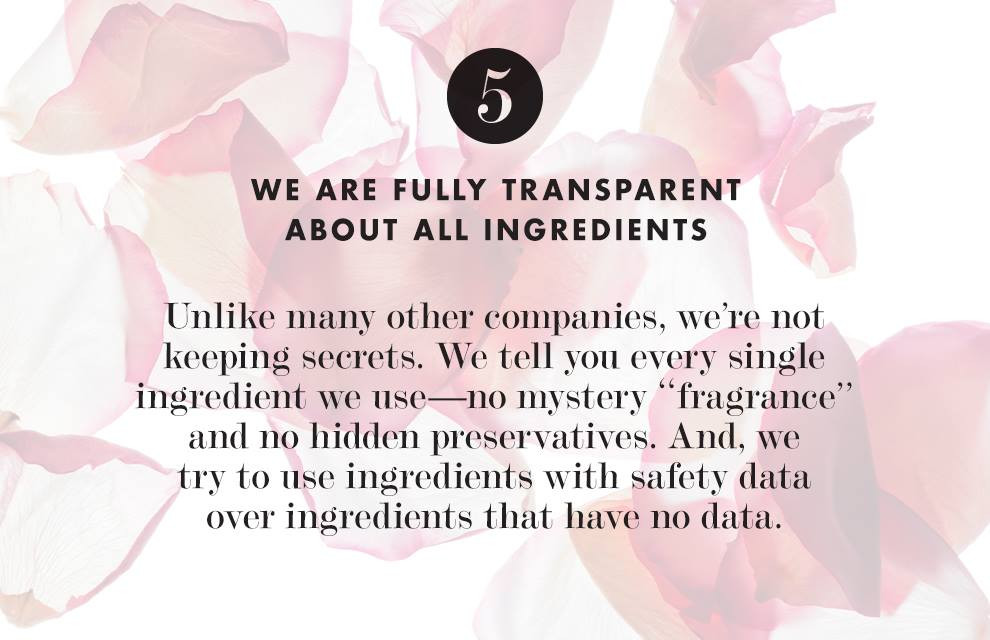 We Are Fully Transparent