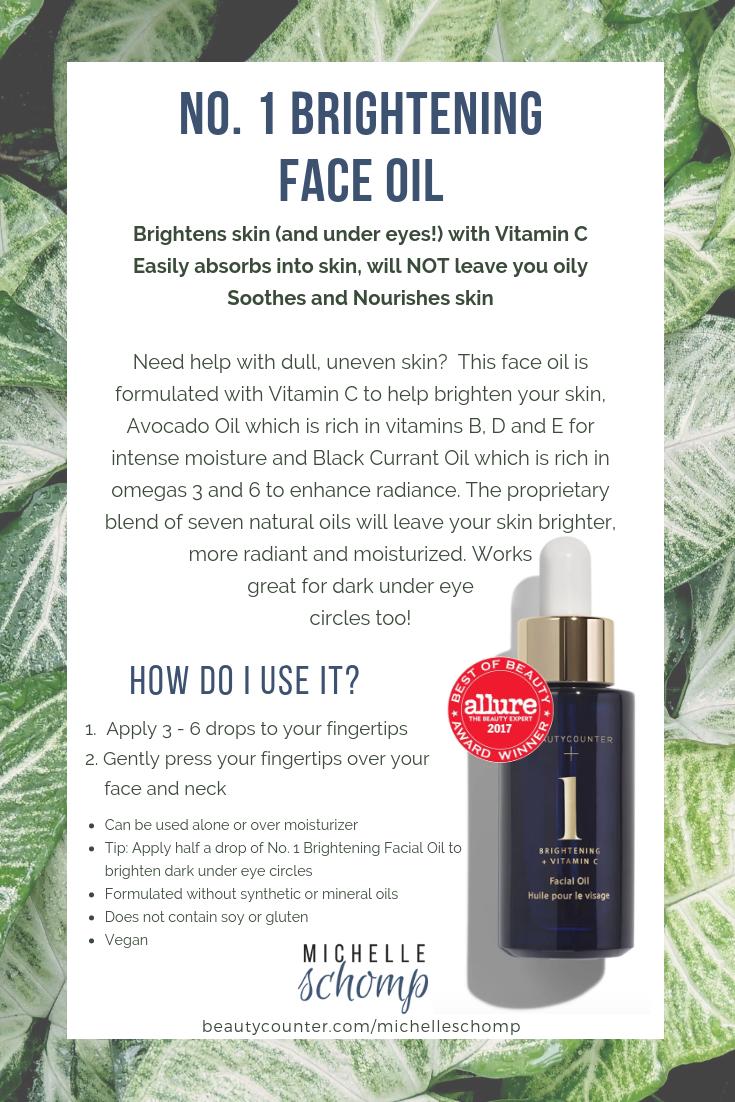 No. 1 Brightening Face Oil