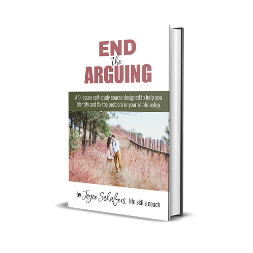 End the Arguing VIDEO course with workbook