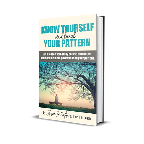 Know Yourself and Break Your Pattern (PDF only)
