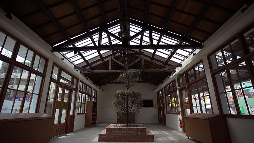 一號棟建築內部空間