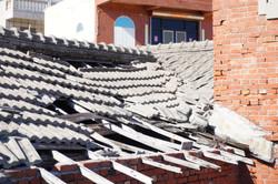 屋頂已坍塌