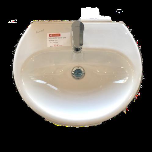 SIRIUS lavabo blanc W401201