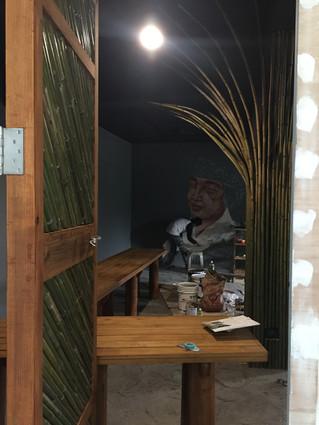 加蚋埔夜祭⽂化展⽰空間1208施工紀錄