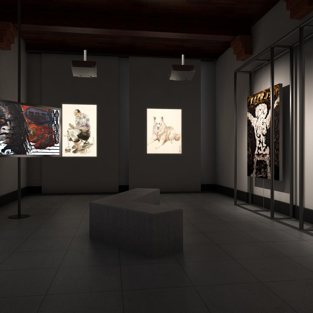 劍擊室一樓展示廳