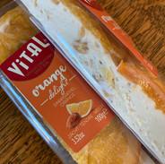 Nougat and orange slice 2.85