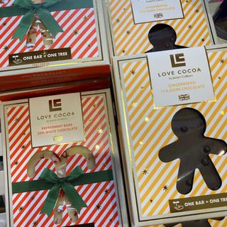 Christmas Chocolate Bars 4.50