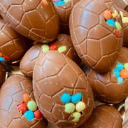 Hollow smartie eggs
