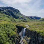 Ryganfossen, Norway