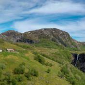 Mountain farm, Norway