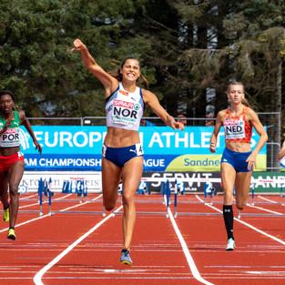 Amalie Iuel, Athletics