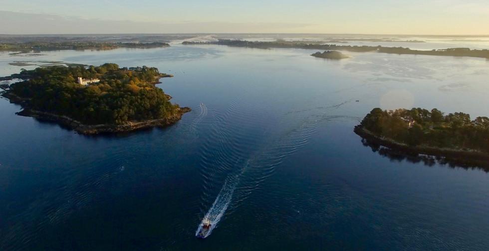 FlyUp Drone-Golf du Morbihan-Île de Berder et Île de la Jument